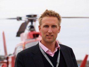 Christian Keldsen, kommerciel direktør i Air Greenland.