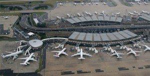 charles de gaulle lufthavn paris terminal