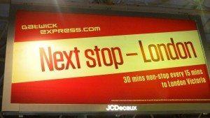 gatwick express lufthavne transport
