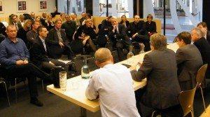 Fra onsdagens medlemsmøde i Danmarks Rejsebureau Forening, hvor CWT var vært.