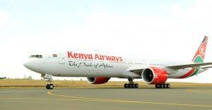 kenya airways, boeing b777-300 ER