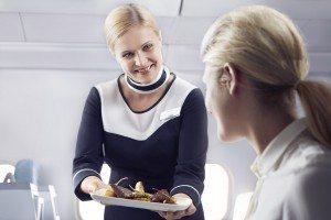 Finnair kabinepersonale business serving mad