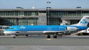 KLM billund lufthavn fly