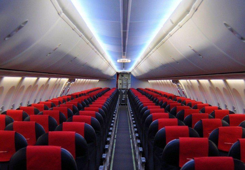 Norwegian, Boeing fly nummer 1000 B737 Sky Interior