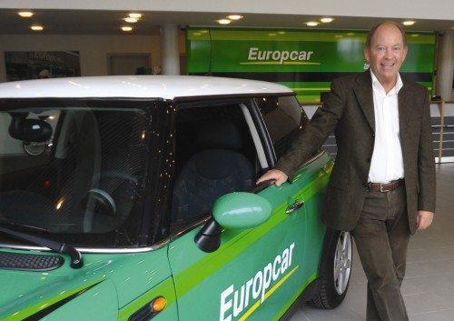 Adm. direktør Poul Henrik Tvede fra Europcar Danmark.