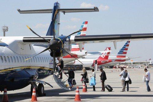 ATR fly lufthavn passager