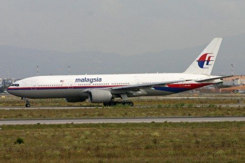 Malaysia Airlines Boeing 777 9M-MRD, MH 17, 1