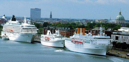 københavns havn krydstogt skibe