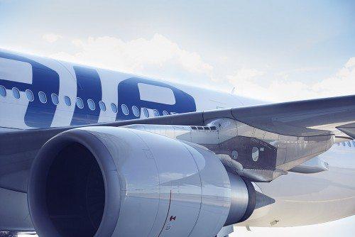Finnair airbus flymotor