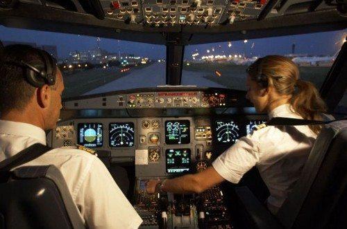 air france piloter cockpit