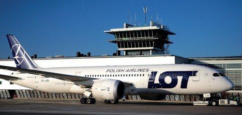 LOT Polish Airlines Dreamliner i Københavns Lufthavn