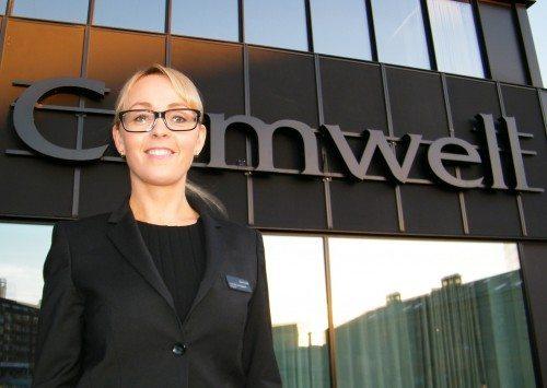 Julie Marie Baggesen er direktør for Comwell i Aarhus.