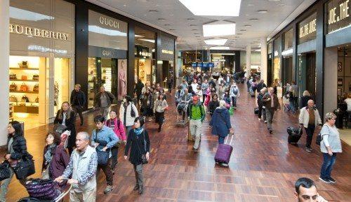 københavns lufthavn, shopping, transithal