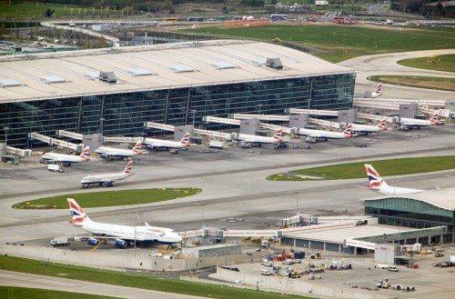 london heathrow terminal 5 lufthavn british airways