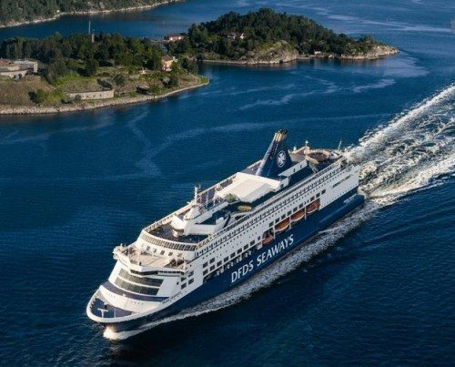 DFDS Pearl Seaways oslo fjord