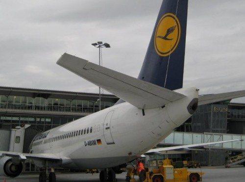 billund lufthavn lufthansa