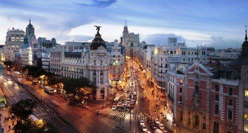 spanien, Madrid, Gran Vía lo