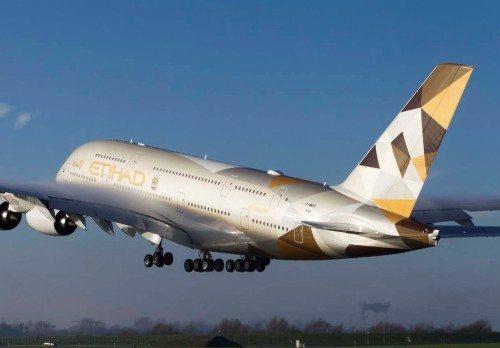 etihad airways, Airbus A380