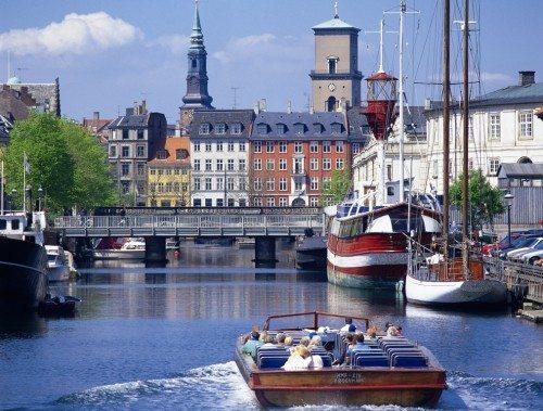 københavn kanalbåd ferie dansk