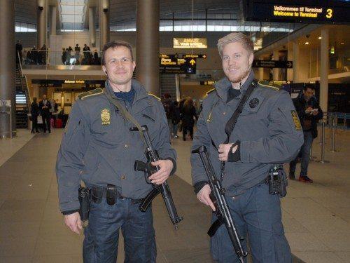 Øget sikkerhed i Københavns Lufthavn