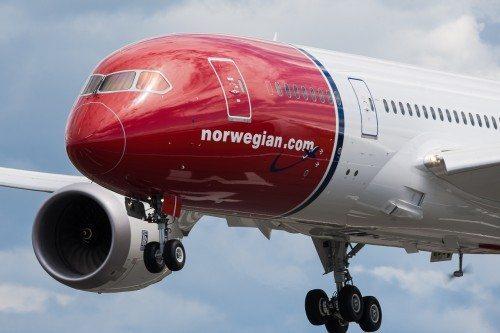 norwegian Boeing B787 Dreamliner