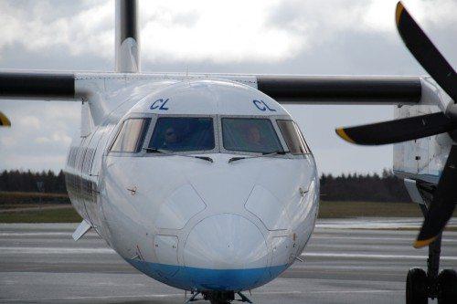 Brussels Airlines, Billund Lufthavn, Q400, FlyBe