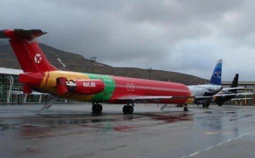 fly i færøernes lufthavn