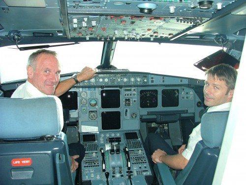 sas cokpit piloter