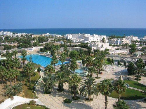 Tunesien får 17 pct. af sine indtægter fra turisme. Arkivfoto