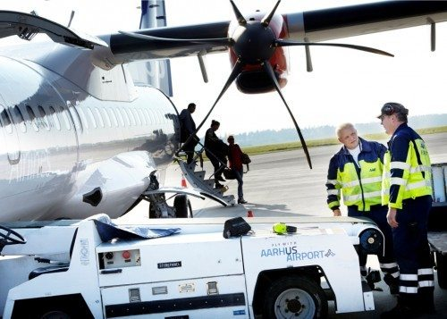 Aarhus lufthavn sas bagage fly