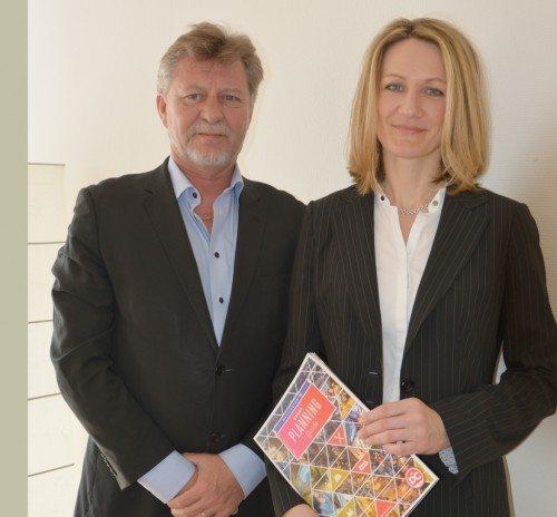 Johnny Schou, direktør for Discover the World Marketing i Skandinavien, med Larissa Tishevskaya fra Destination DC.