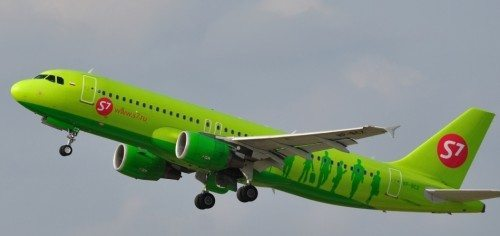 S7 Siberia Airlines Airbus  A320