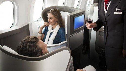 british airways kabine passagerer