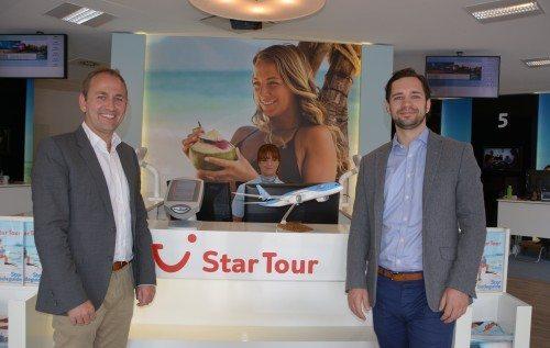 Det nye par i Star Tour Danmark, Gorm Pedersen og Nikolai Johnsen. Foto Preben Pathuel.