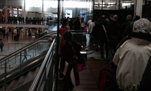 københavns lufthavn ventetid sikkerhedskontrol