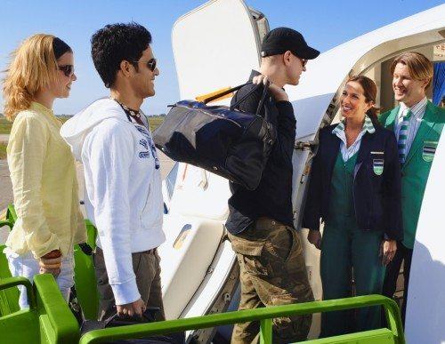 transavia fly passagerer lufthavn