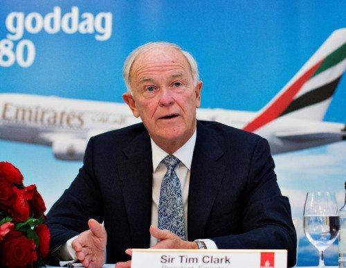 Sir Tim Clark.