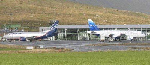 Færøerne, Atlantic Airways og Nordavia