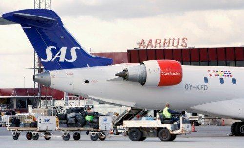 SAS Aarhus Lufthavn fly