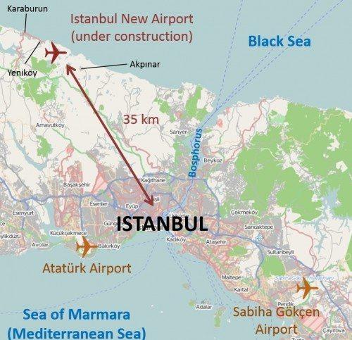 istanbul ny lufthavn