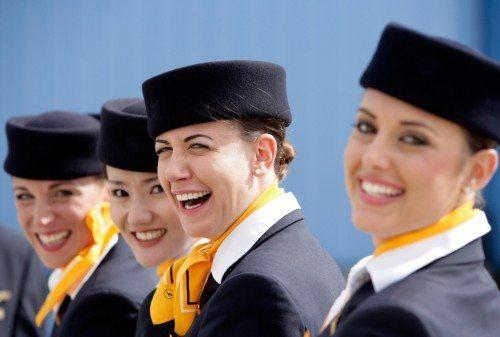 lufthansa kabine besætning stewardesse
