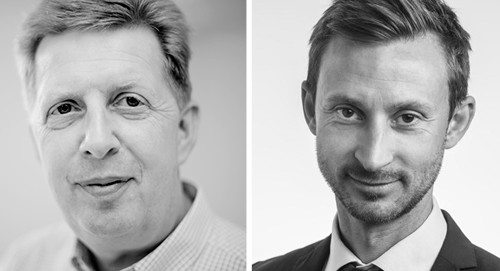Jens Hausted (til venstre) og Mikkel Aarø-Hansen er nye i VisitDenmarks bestyrelse.
