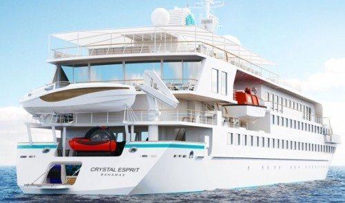 Crystal Esprit får bl.a. mini u-båd til dets passagerer.