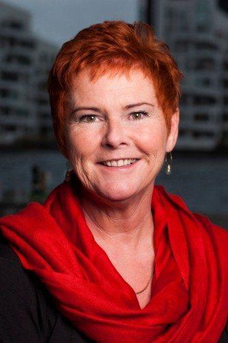 LO's næstformand, Lizette Risgaard.