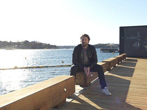 Rene Redzepi på besøg i Barangaroo, Sydney – Foto: Jason Loucas.