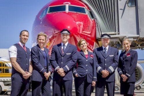 norwegian besætning personale