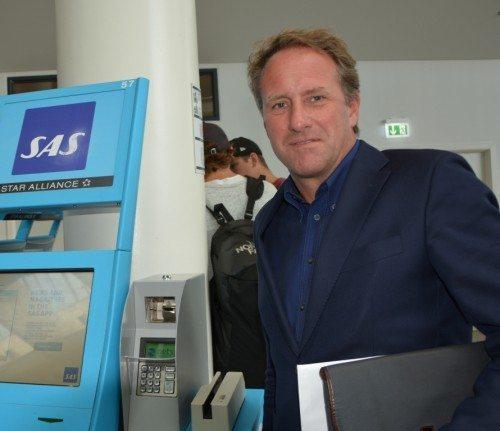 sas, Lars Sandahl Sørensen lufthavn