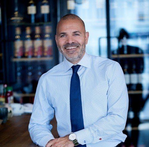 Karim Nielsen, adm. direktør for de fire københavnske Brøchner Hotels.