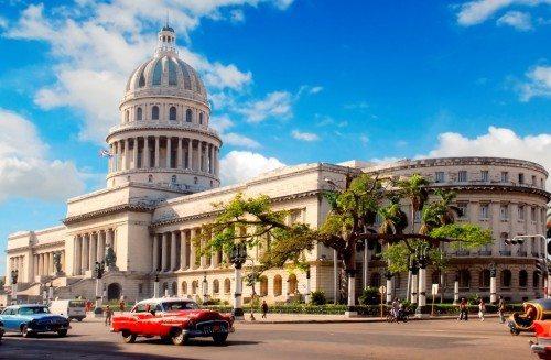 Cuba Capitolio Building Havana