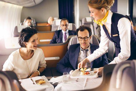 Lufthansa restaurant